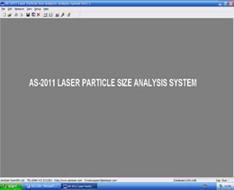 particle size analyzer software-desktop